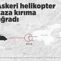 Bingöl'den kalkan askeri helikopter kaza kırıma uğradı: 10 şehit
