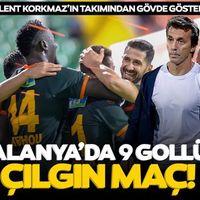 Alanya'da 9 gollü çılgın maç! Bülent Korkmaz'ın takımından gövde gösterisi