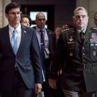 Pentagon chief confirms he was briefed on intelligence about Russian payments to the Taliban