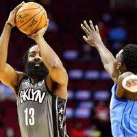 Brooklyn Nets' James Harden gets mixed response from fans in return to Houston