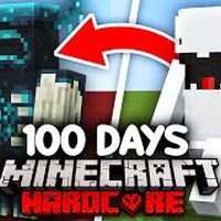 I Survived 100 Days as a SHAPESHIFTER in Minecraft...