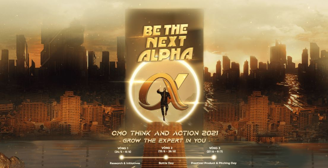 """CMO Think And Action: """"Be The Next Alpha"""""""