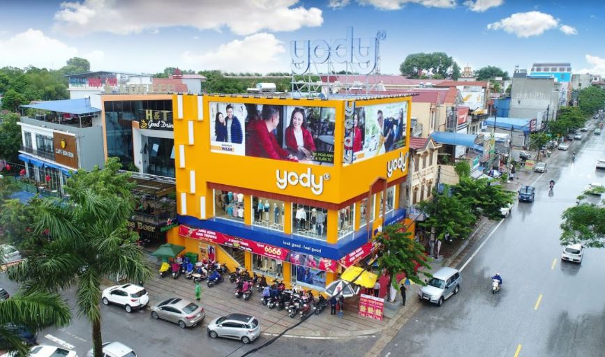 Yody hiện đã có hơn 115 cửa hàng trên toàn quốc.
