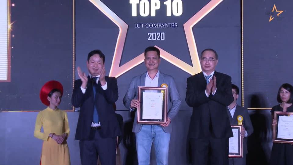 DN tập trung vào các nền tảng Công Nghệ - Dữ Liệu - Sáng Tạo nhận giải thưởng Top 10 Doanh nghiệp Digital Marketing Việt Nam 2020