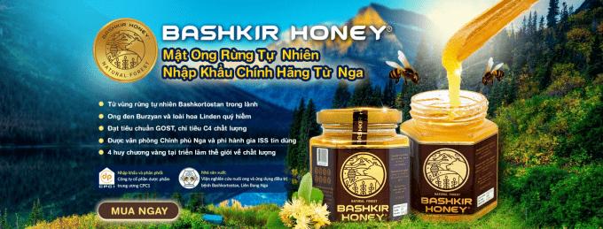 Mật ong rừng tự nhiên Bashkir Honey.