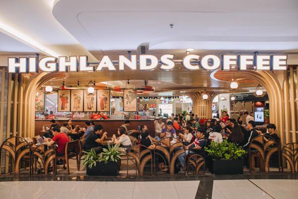 Hơn 39 chi nhánh Highlands Coffee đã có mặt tại Philippines.
