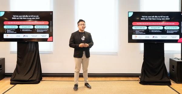 Ông An Bùi, Giám đốc Marketing mảng Kinh doanh TikTok.