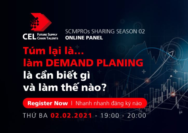 SCM PRO SHARING SERIES 2: TECHNOLOGY & KNOWLEDGE IN DEMAND PLANNING