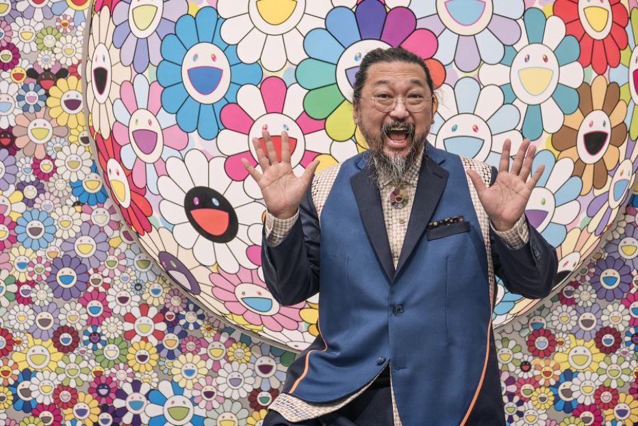 """Takashi Murakami là """"cha đẻ"""" của hoa mặt cười."""