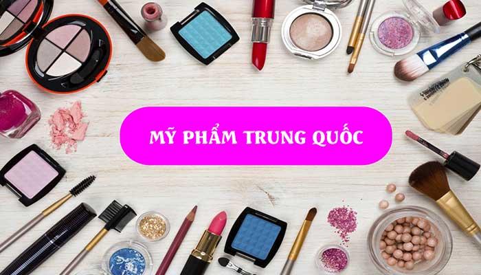 """Mỹ phẩm Trung Quốc từng một thời gian mang """"nỗi oan Thị Kính"""" tại thị trường Việt Nam."""