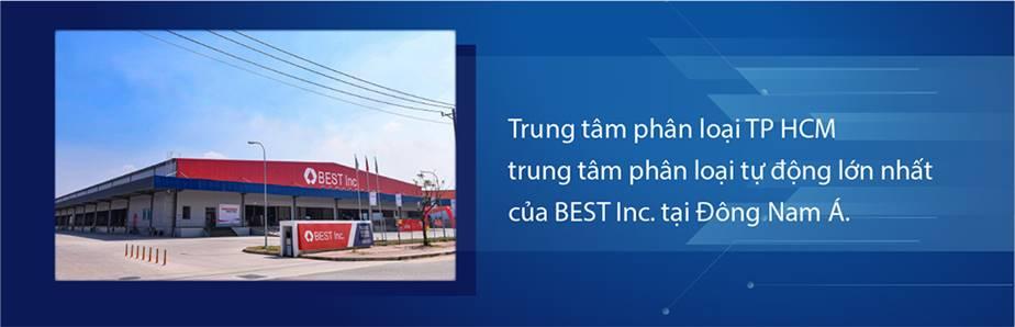 BEST Inc. tại khu vực TP.HCM của Việt Nam.