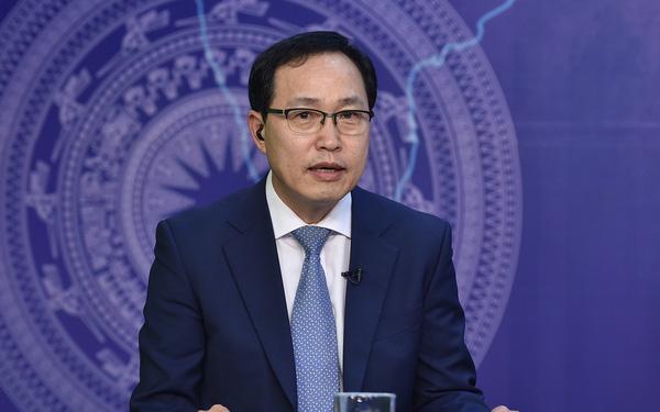 Ông Choi Joo Ho - Tổng Giám đốc tổ hợp Samsung Việt Nam.