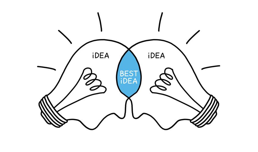 Trong giai đoạn này, các ý tưởng hứa hẹn và đạt nhiều đồng thuận nhất trong nhóm sẽ được đem ra 'mài dũa' để trở nên hoàn thiện.
