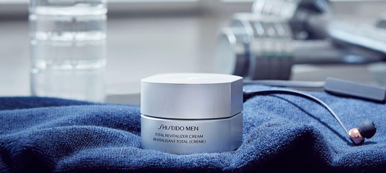 Sản phẩm của Shiseido đáp ứng được những nhu cầu làm đẹp căn bản của phái mạnh.