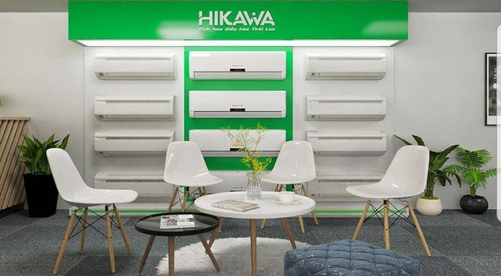 Một showroom của thương hiệu điều hòa Hikawa.