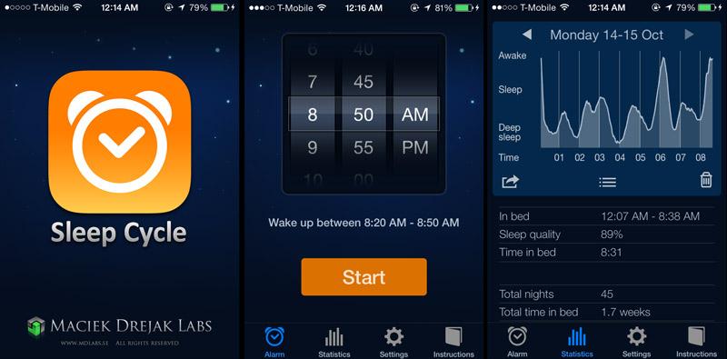 Sleep Cycle giúp người dùng kiểm soát chất lượng giấc ngủ.