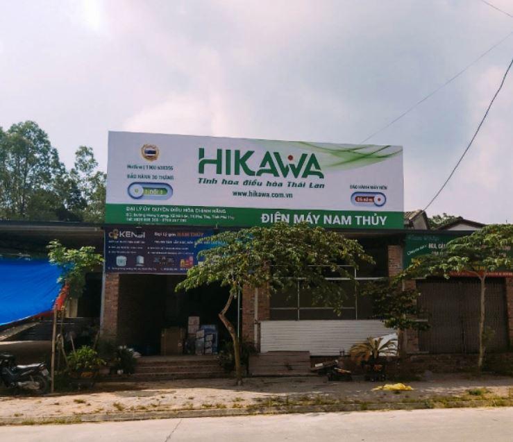 Trạm bảo hành của Hikawa phủ sóng nhiều tỉnh thành trên khắp cả nước.