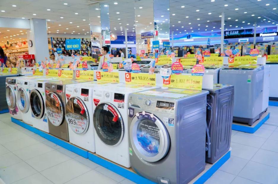 Siêu thị điện máy chật vật tồn tại trên thị trường