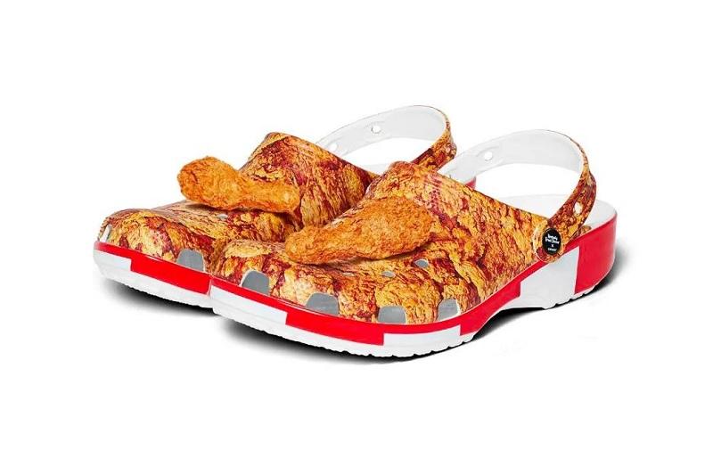 Sản phẩm liên doanh độc đáo không tưởng của Crocs và KFC.