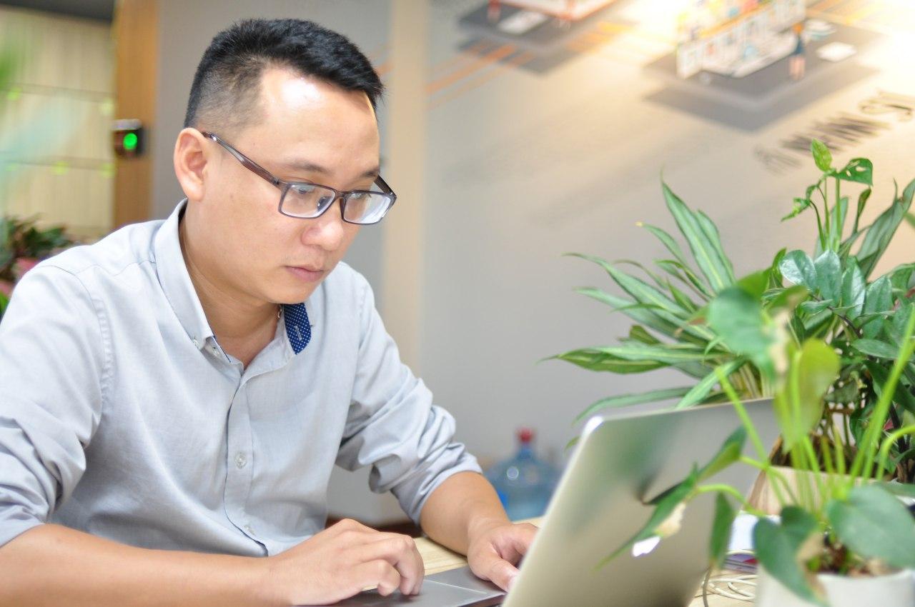 Ông Chu Tiến Long Co-founder kiêm giám đốc kinh doanh 1Office.