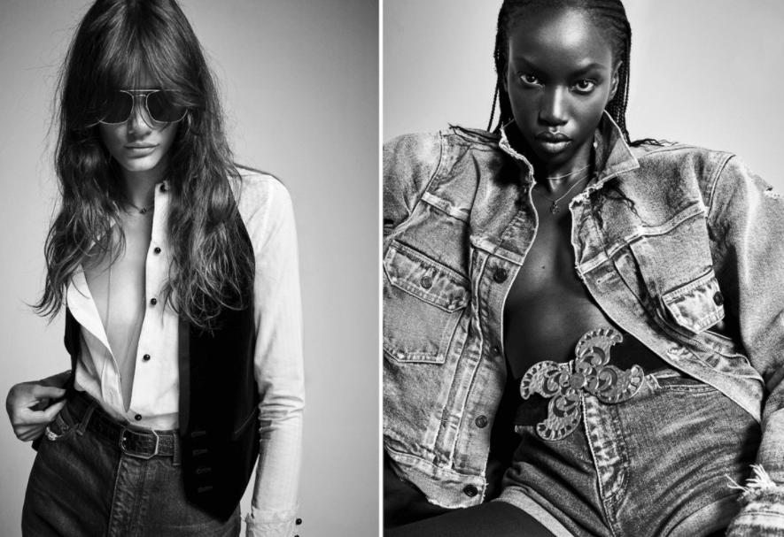 Xu hướng hoài cổ trong bộ sưu tập Denim mới 2021 của  Yves Saint Laurent