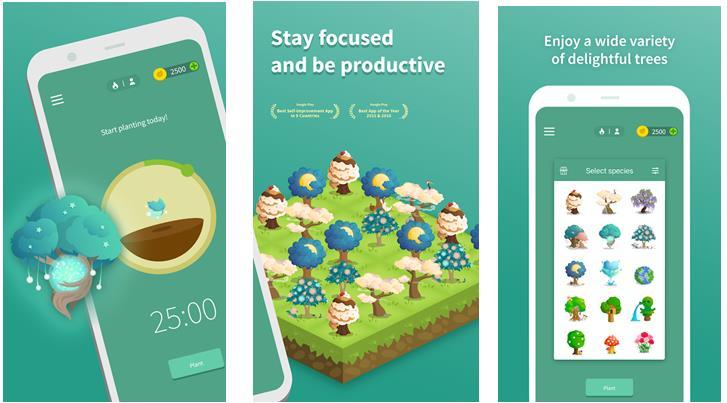 Forest - ứng dụng quản lý thời gian học tập và làm việc hữu ích.