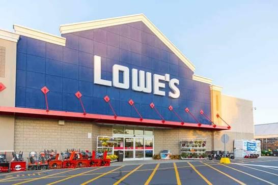 Thành tích bán hàng xuất sắc của Khôi tại Lowe's Company (chuyên bán sản phẩm cải thiện nhà cửa).