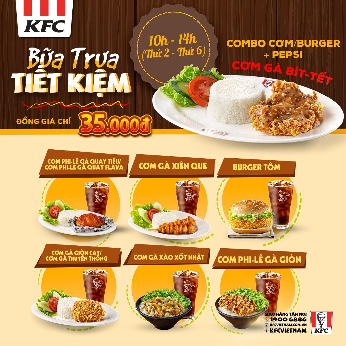 Chương trình khuyến mãi của KFC đánh vào tâm lý của khách hàng trẻ.