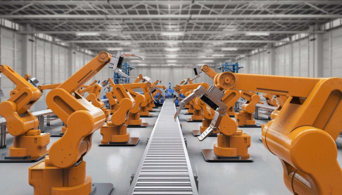 Robot có nhiều ứng dụng trong ngành công nghiệp.