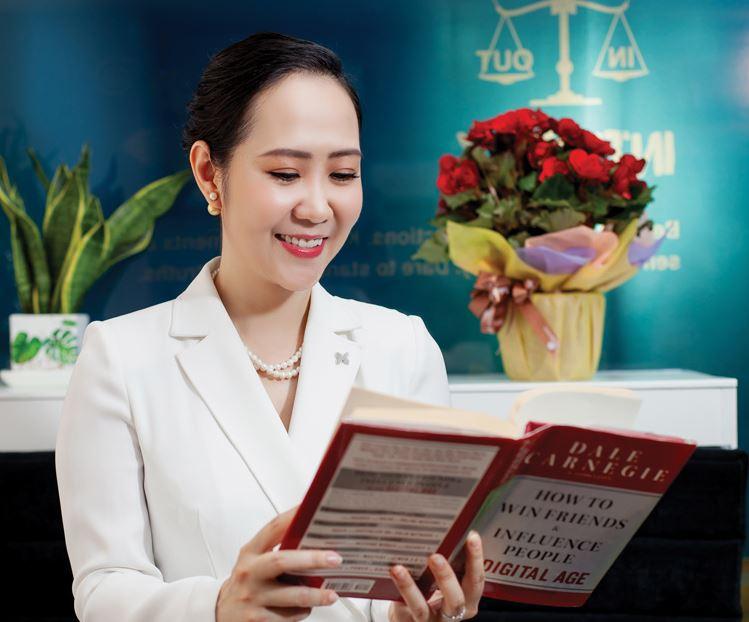 Bà Nguyễn Trịnh Khánh Linh - Chủ tịch kiêm Tổng giám đốc Dale Carnegie Việt Nam.
