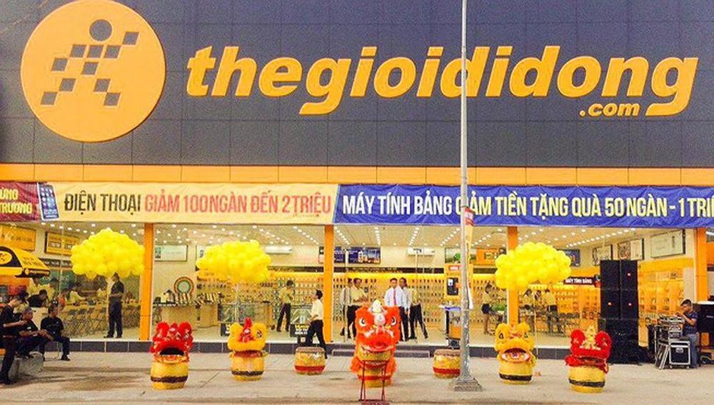 Thế giới di động là một trong những nhà bán lẻ hàng đầu Việt Nam.