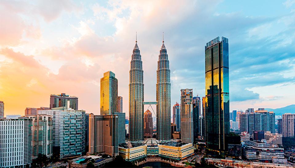 Một góc hiện đại của Malaysia.