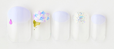 Hydrangea nail(tricia) | ネイルサロンtricia(トリシア)店