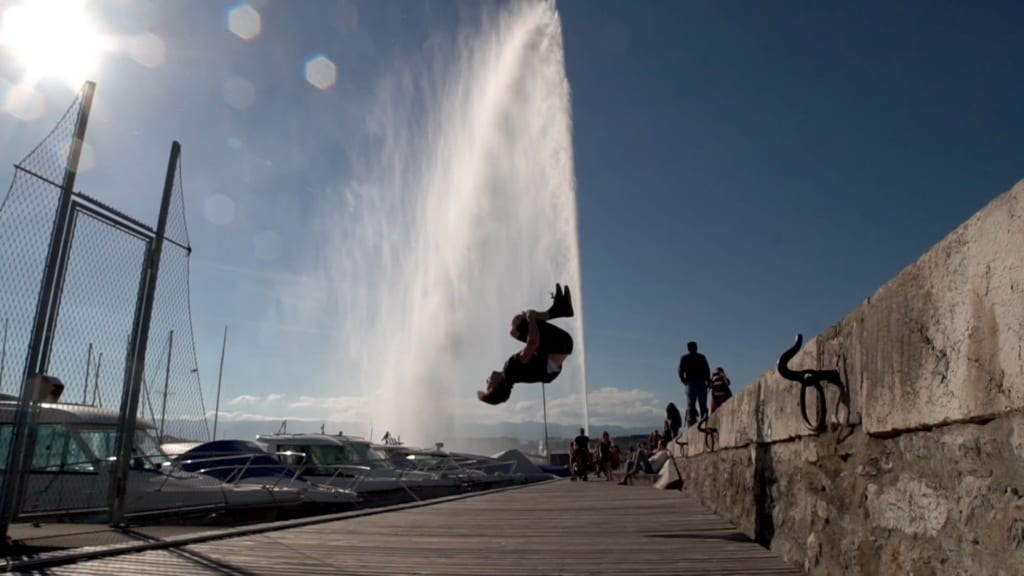 Jet d'Eau of Geneva, Switzerland