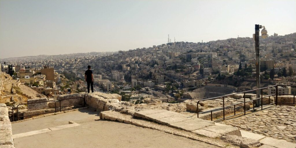 View of downtown Amman