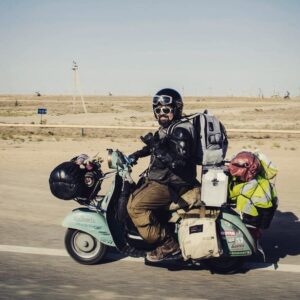 Around The World On A Vespa - Markus André Mayer