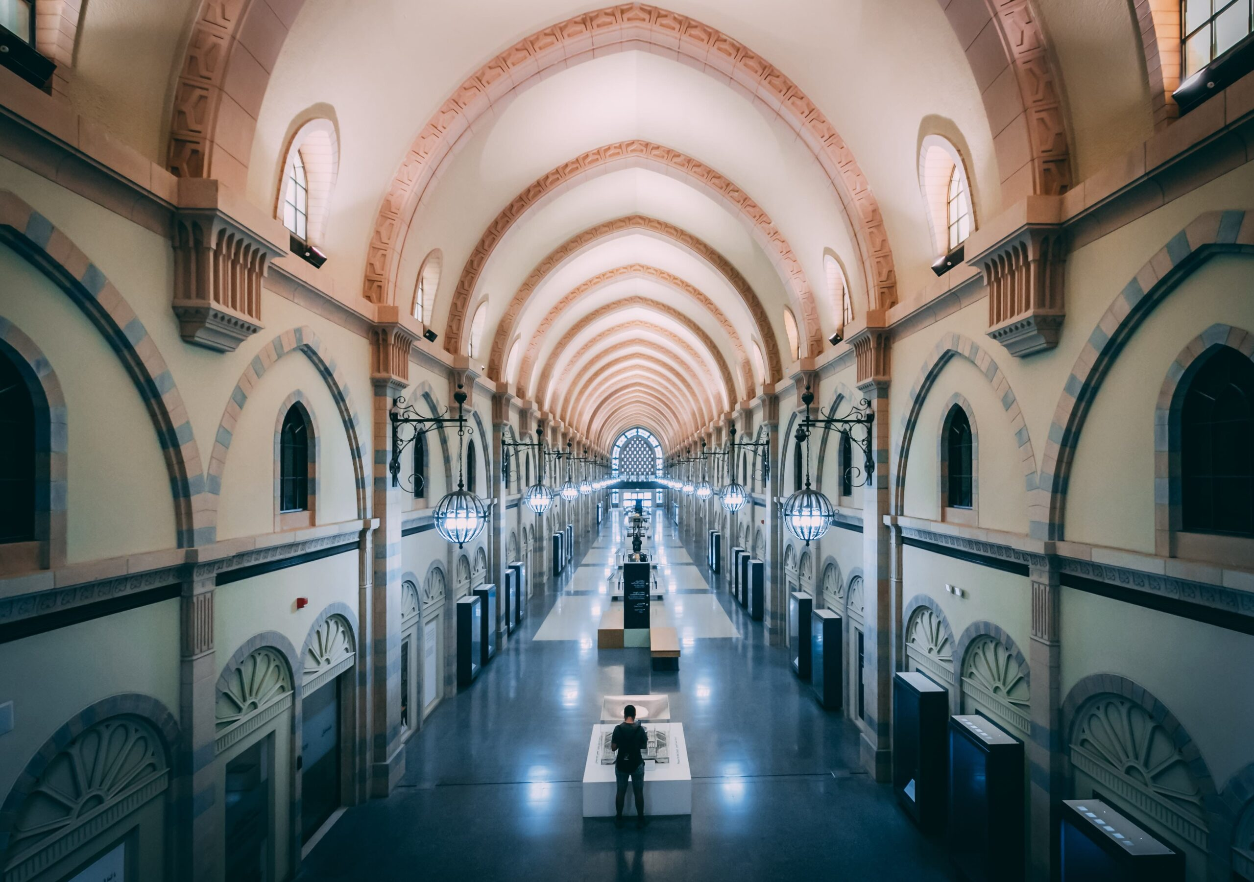 Interiors of sharjah souq