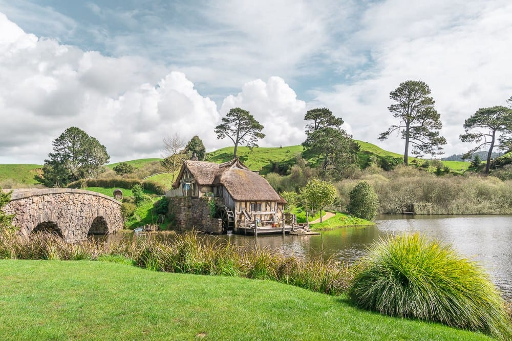 the shire location lord of the rings