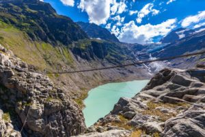 Trift Bridge - Bridging the Glacial Chasm
