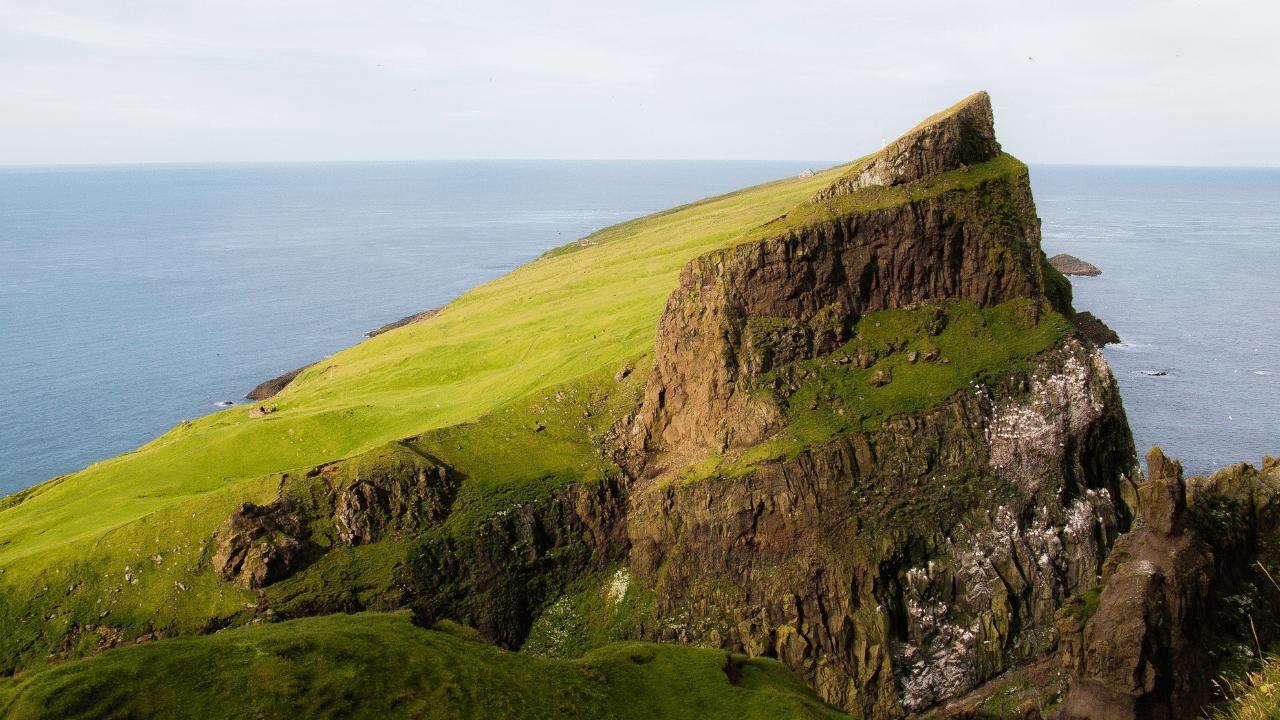 Mountain at the Faroe Islands