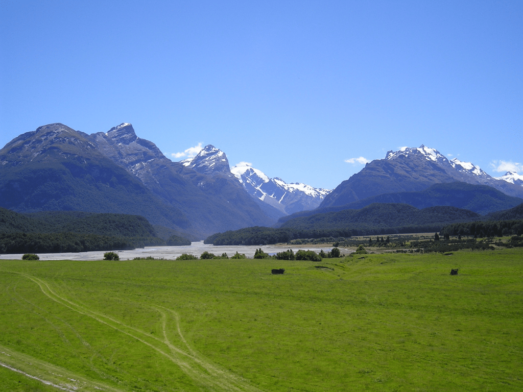 Isengard looking over a sunny day