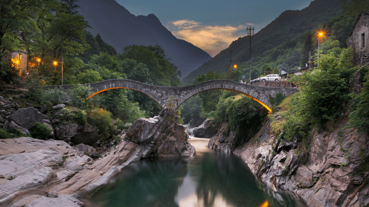 Lavertezzo is the most popular and known turistic location in Verzasca Valley
