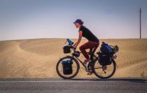 Around the world on two wheels - Fredrika Ek's solo bike journey
