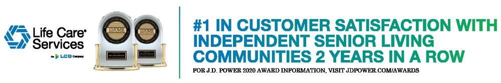 Life Care Services customer satisfaction award