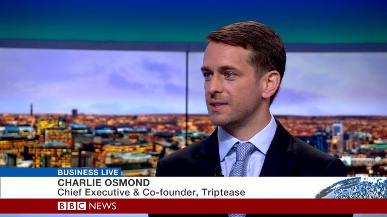 Charlie Osmond Interviewed On BBC World News