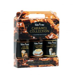 Jordans Skinny Syrups Caramel Collection Trio