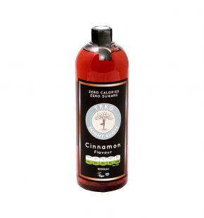 TRKG Skinny Syrups Cinnamon Flavour Front