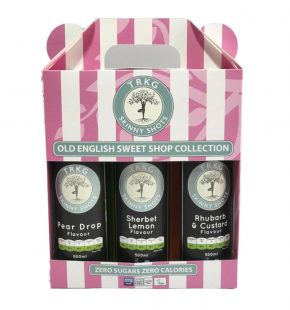TRKG Old English Sweet Shop Trio, shows front of trio pack