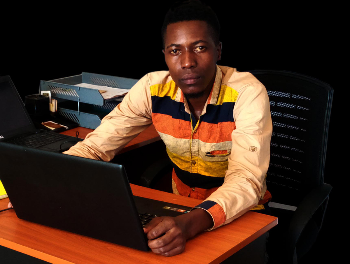 Tonny Luliba A web Full stack Developers and Founder of Trophy Developers (Uganda) a Start Up Company Helping many small Business across the world