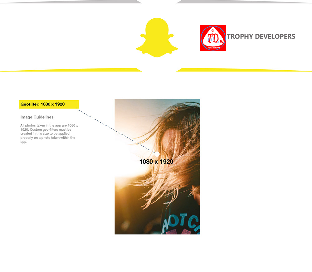 Snapchat Recommended Photo or video size by Uganda Website Designers